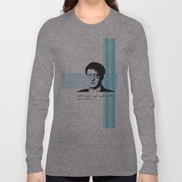 My Identity - a qoute by Mahmood Darwish Long Sleeve T-shirt