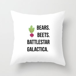 battlebeet Throw Pillow