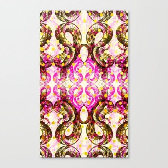 Confetti Snake Canvas Print