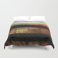 rain Duvet Covers featuring Rain by Viviana Gonzalez