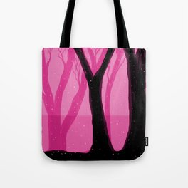 Magical Forest in Pink Tote Bag