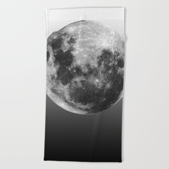 Moon Love Beach Towel