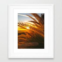 Happy Glow Framed Art Print