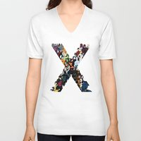nightcrawler V-neck T-shirts featuring X1 by Andrew Formosa
