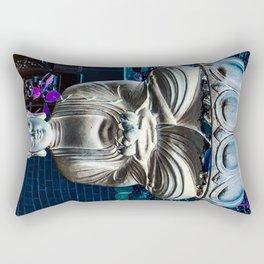 One with Zen Rectangular Pillow