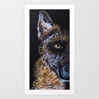 K9 Art Print