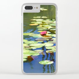 Water lilies- dreaming Clear iPhone Case