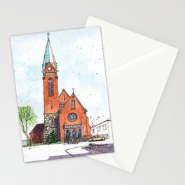 Church of the Intercession of the Holy Virgin, Kaliningrad, Russia Stationery Cards