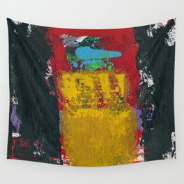 Baron Modern Art Black Wall Tapestry