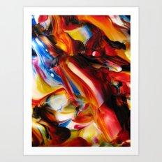 whirled piece Art Print