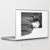 moustache Laptop & iPad Skins featuring Moustache by Alessia Pelonzi