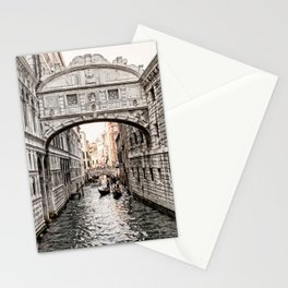 Bridge of Sighs, Venice, Italy (Lighter Version) Stationery Cards