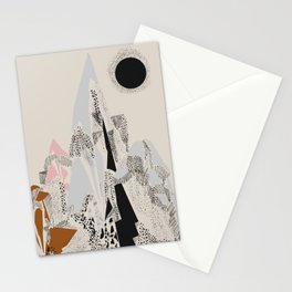 Dusty Mountain Stationery Cards
