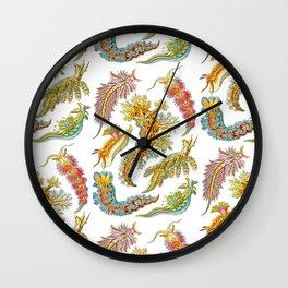 Ernst Haeckel Nudibranch Sea Slugs Wall Clock