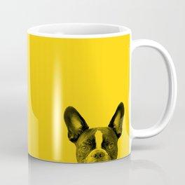 James: Bat Ears Yellow Coffee Mug