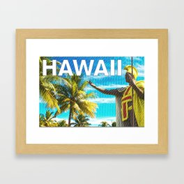Hawaiian Pride Framed Art Print