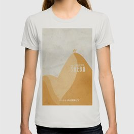 Queen of Sheba, André Malraux, book cover, Yemen, travel, adventure, wanderlust, french T-shirt
