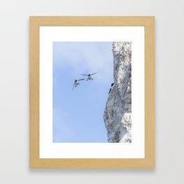 Aborted landing Framed Art Print