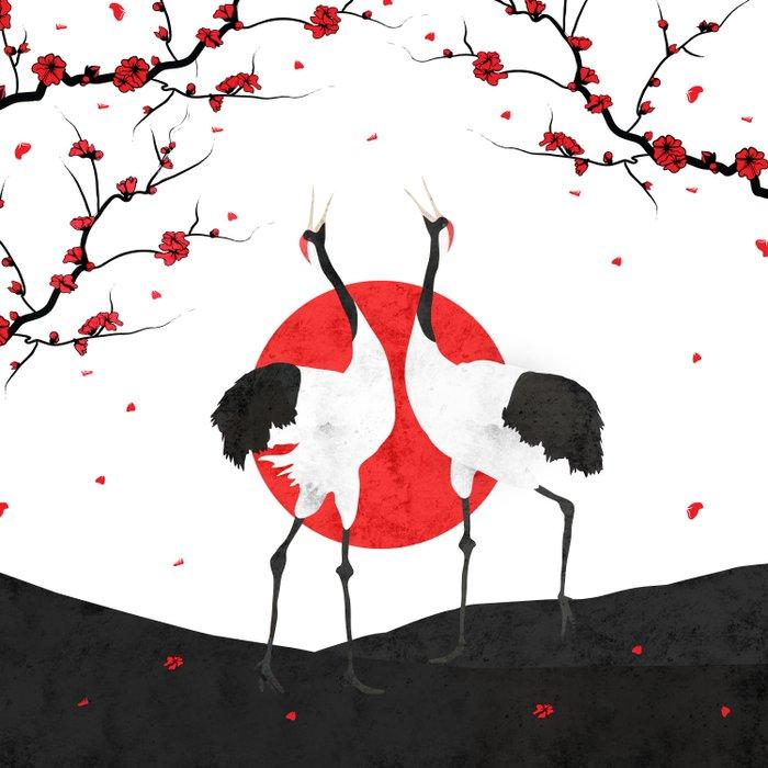 Love's Dance - Spring Version Comforters