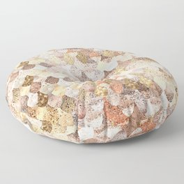 MERMAID GOLD Floor Pillow
