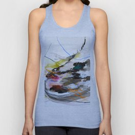 Day 56: Move gently with nature and things will fall into their rightful place. Unisex Tank Top
