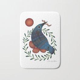 Early Bird Bath Mat