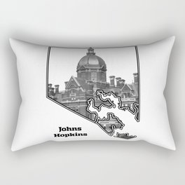 Hopkins White Rectangular Pillow
