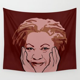 Toni Morrison Wall Tapestry