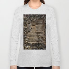 African Antiquities Collection: Shutter of the Degone People Long Sleeve T-shirt