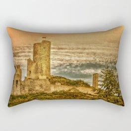 Castle Landscape (Rhineland-Palatinate, Germany) Rectangular Pillow