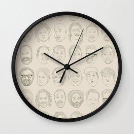 36 Funny People Wall Clock