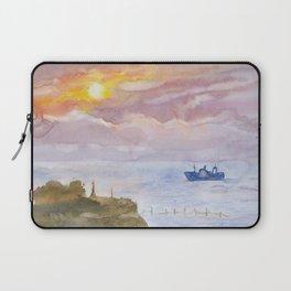 Sunset on the Black Sea Laptop Sleeve
