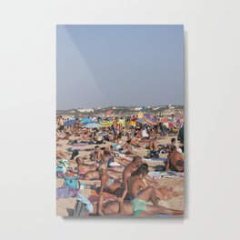 Beach Time 2! Metal Print