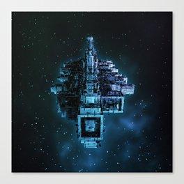 Leviathan BLUE / Keep on trucking Canvas Print