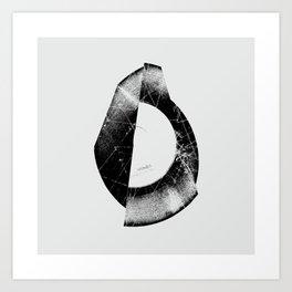 Vinyl Fold 2 Art Print