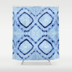 Tie-Dye Dia Sky Shower Curtain