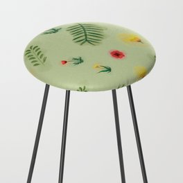 Countryside ferns Counter Stool