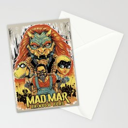 Mad Mar: Rainbow Road Stationery Cards