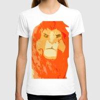 simba T-shirts featuring Simba by Makayla Wilkerson