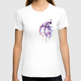 3D Heart T-shirt