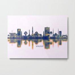 Muscat Skyline Metal Print