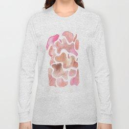 171115 Colour Shape 2  |abstract shapes art design colour |shapes art abstract Long Sleeve T-shirt