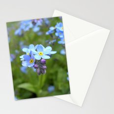 forget-me-not flowers II Stationery Cards