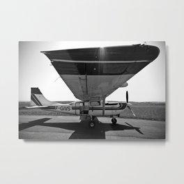 Sky Dive Airplane Metal Print