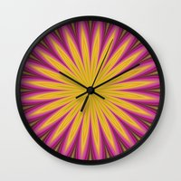 blossom Wall Clocks featuring Blossom by David Zydd