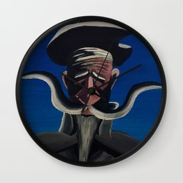 Don Q II Wall Clock