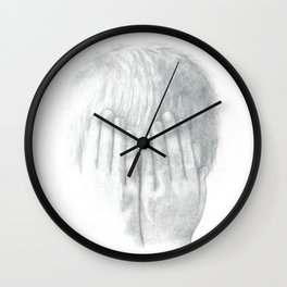 You Can't See Me Wall Clock