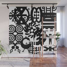 Adinkra Mix Wall Mural