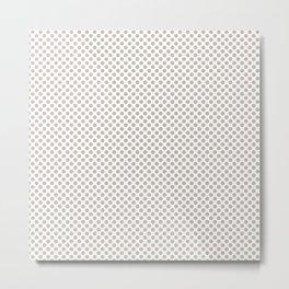 Peyote Polka Dots Metal Print