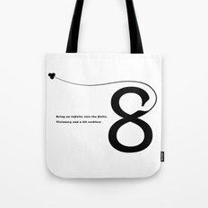 Number 8 Tote Bag